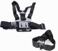 belt buckle kits - Go pro kit Gopro accessories Chest Belt Head Stap Mount Strap with Plastic Buckle for Gopro hero Hero Black Edition