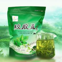 Wholesale 500g CANS Cert Tender shoot Gynostemma Pentaphyllum Herbal Tea Jiaogulan Natural Wild Gynostemma Seven Leaves Herbal Tea HT