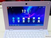 Wholesale 1 piece Android operation system laptop netbook inch size ram gb rom