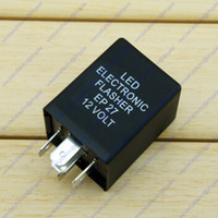 Wholesale EP LED V Pin Turn Signal Flasher Relay Fix Hyper Flash Decoder Equalizers