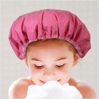 Wholesale Shower Caps Barthroom Products Thick double sided multifunction super absorbent dry hair cap Waterproof cap