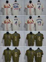 banner services - MLB Cardinals jerseys baseball Jerseys St Louis MOLINA MUSIAL CARPENTER O SMITH Salute To Service Banner Wave freeshipping