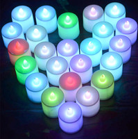 Wholesale LED White Submersible Wedding Decoration Light Waterproof Candle LED Candle Light Remote Control Candle Battery Operated Candle Valentine