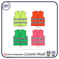 Wholesale Custom children safety vset with high reflective vest