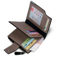 bifold windows - Real PU Leather Men s Wallet Bifold Money Clip Card Receipt Holder ID Window Driving License Pocket purse