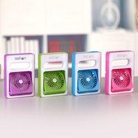 Wholesale Mini handheld fan new hot selling usb fans mini cube fan mini square fan from evergreentech rechargeable summer fan
