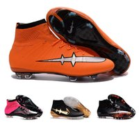 ankle boot for sale - Cheap New Obra Magista Superfly Mercurial Soccer Shoes Original High Ankle FG Soccer Cleats CR7 Superfly Football Boots For Sale