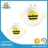Wholesale Top sale guaranteed quality baby hair wash basin hand face plastic basin