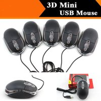 Wholesale High quality Cheap D Optical USB Mouse Mini Scroll Wheel Mouse Mice For PC Laptop DHL fast delivery