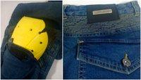 Wholesale Men Women KOMINE PK Kevlar Denim Jeans PK Motorcycle Motocross Moto Pants Jeans With Protector Pad S XL