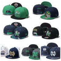 ncaa hats - NCAA Notre Dame Snapbacks Hats Notre Dame Fighting Irish Cap American College Notre Dame Adjustable Hats Embroidered Logos Free Size