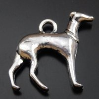 Wholesale 15PCS Antique Silver Alloy Sheep Dog Pendant Charms Jewelry Finding mm jewelry making