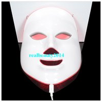 beauty mask photo - 2016 Portable LED Colors Photo PDT Skin Rejuvenation Beauty Therapy Facial Mask For Pigmentation Correction