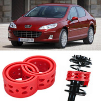 Wholesale 2pcs Super Power Rear Auto parts Shock Absorber Spring Bumper Power Cushion Buffer Special For Peugeot