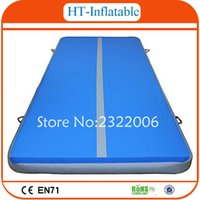 Wholesale Indoor Used Sports Equipment x2x0 m Size Gym Mat Air Tumbling Mat Inflatable Air Track for Sale