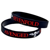 avenged sevenfold music - New Arrival PC Avenged Sevenfold Silicone Wristband for Muice Concert Great To Used In Any Benefits Gift For Music Fans