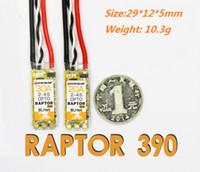 al por mayor optoelectrónica-2016 Nuevo 20A Raptor 390 ESC Control electrónico de velocidad Brushless eléctrico para Quadcopter Racing Drone OPTO, PFV Multiaxis, W-FW020004
