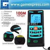 area feet - Digital Laser Meter M Range Finder Measure Area Volume Pythagoras mm Accuracy Tool Feet Inches Units with Bubble Level