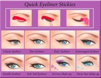 aids cats - Hot Foreign hot fast eye liner AIDS cat tail stickers Eyeliner Eyeliner