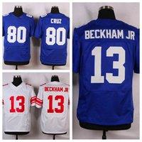 Football beckham shirt number - Men s Giants Odell Beckham Jr Elite Royal Blue Team Color Jersey Cheap Athletic Jerseys Victor Cruz Shirts Stitched Name and Number