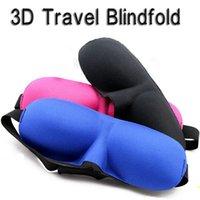 Wholesale New Style D Sleep Rest Travel Eye Mask Sponge Cover Blindfold Shade Eyeshade