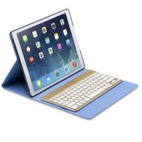 apple keyboard backlight - Automatic Connection Bluetooth Keyboard With Color Backlight Protective Clamshell Leather Case For iPad Pro