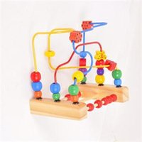 ab games - New BA Intelligence Game Toy for Kids Interactive Wooden Round Moving Beads Toy Novetly Children Toys Hobbies AB
