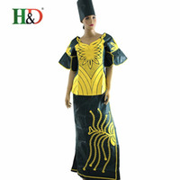 african traditions - 2016 African woman dress rich tradition of African women s cotton bazin Dashiki African dress design M2153