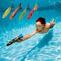 Wholesale PrettyBaby Diving torpedo throwing toys Games Sport outdoor Play Pools Water Fun Summer Children Swimming Pool Toys