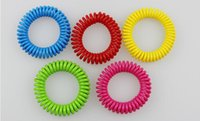 Wholesale Mosquito Repellent Spring Bracelets Anti Mosquito Pure Natural Baby Wristband Hand Ring colors available easy to use for kids hot sale