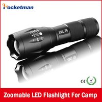 best waterproof flashlight - Best High Power Ultra E17 Lumen Flashlight Led CREE T6 XM L Camping Torch Flash Light Zoomable Waterproof Flashlights