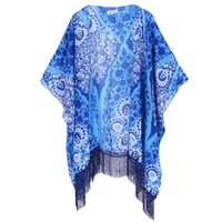 animal print - Soul Young Flora chiffon Pashmina Bikini Scarf All match Scarves and Wraps ultraviolet proof For sunblock Kimono for Women