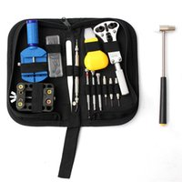 Wholesale Hot Selling Watch Repair Tool Kit Set Opener Link Remover Spring Bar w Carrying Case For Watchmaker