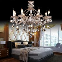 Wholesale 6 Heads Modern crystal chandelier Light Chandelier Crystal Chandelier Light Living room bedroom Chandelier lamp