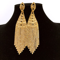Wholesale 2016 African women s fashion jewelry set gold plated bride wedding eardrop k wedding set with more than three pieces of mail