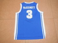 Wholesale 2015 Doug McDermott New Material Rev Basketball red white jersey Best quality Embroidery Logos Size S XXL