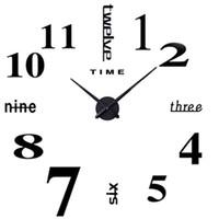 best metal wall decoration - Wall Clock LOOYUAN DIY Large Wall Clock d Mirror Sticker Metal Big Watches Home Decoration Best Price