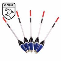 balsa kit - Amur Brand Fishing Tackle set Fishing Bobber Cork Floats Kit Glow Balsa Wood g g