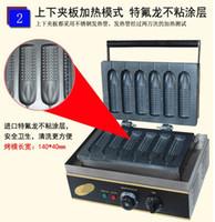 Wholesale Electric v v Corn lolly waffle maker Hot dog waffle stick a plate