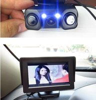 auto accessory park - New quot TFT LCD Rearview Car Monitor Auto Video Parking Sensor With Rear View Camera Vehicle Driving Accessories