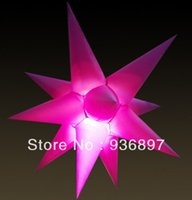 Wholesale Hot sale inflatable led stars inflatable star