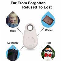Cheap Mini Smart Bluetooth 4.0 Low Energy Anti-Lost Alarm Wireless Remote Shutter GPS Tracker Alarm Keychain for Kids Keys Pets