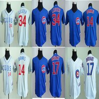 banks club - Anthony Rizzo Jersey Ernie Banks Kris Bryant Jon Lester Chicago Clubs Baseball Jerseys Kids Sport Blue White