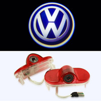 Wholesale LED Car Door Ghost Shadow Laser Projector Logo Light For VW Golf MK4 Touran Caddy MK4 Bora Beatles