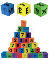 abc foam - 30pcs set Big Size Foam EVA Number Alphabet Letters ABC Animal Learning Multi colored Child Soft Blocks Educational Toys