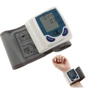 beat machine - by dhl or ems pieces Digital LCD Wrist Cuff Arm Blood Pressure Monitor Heart Beat Meter Machine