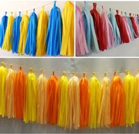 baby ballroom dancing - Tissue Garlands Bunting Ballroom Paper Tassels DIY Wedding Birthday Baby Party Decor cm inch