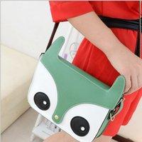 Wholesale 2014 Hot Sale Women Ladies Cute Owl Bags School Tote Retro Shoulder Bag Fashion Messenger Bags Handbag bolsas