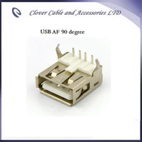 Wholesale Degree USB pin A Female AF Connector USB Jack For PCB