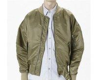 alfa panel - Fear of God FOG Bomber Jacket Men New Hip Hop Justin Bieber Kanye West Season Pilote Alfa Ceket Supremo Ma1 Oversize Coats